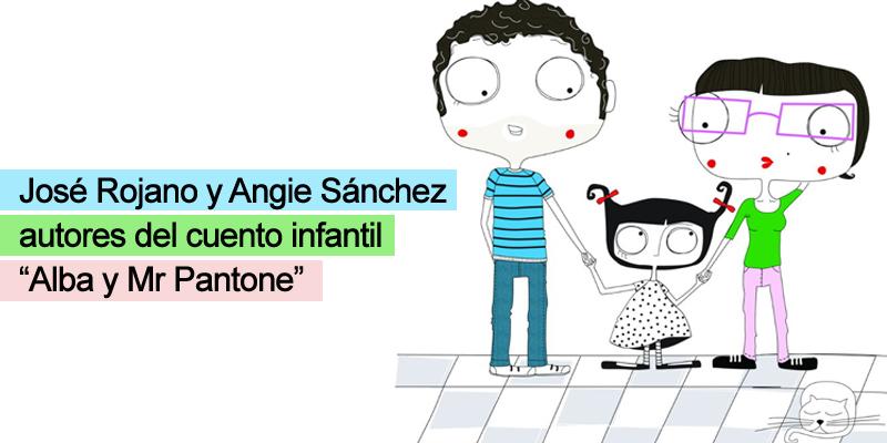 Alba y Mr Pantone - cuento de José y Angie