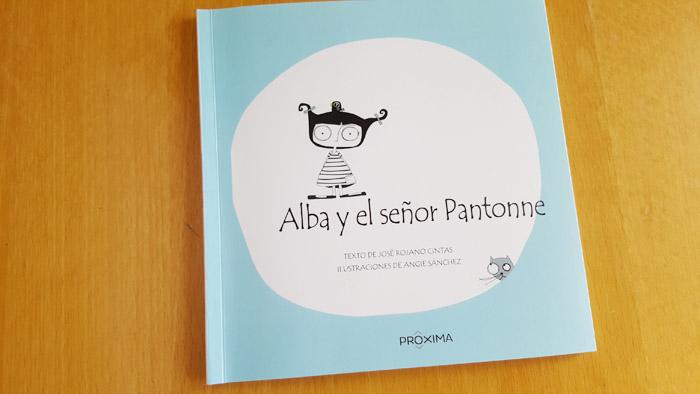 libro crowdfundiado Alba y el señor pantonne