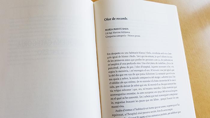 Òmnium Mataró concurs Literari 2017