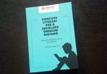 Concurs Literari per a escolars Òmnium Mataró